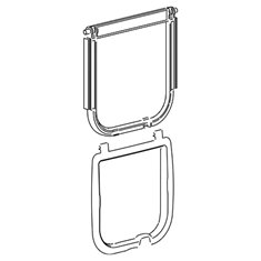 Ferplast Kit 406 Door-Gasket Swing 5/7