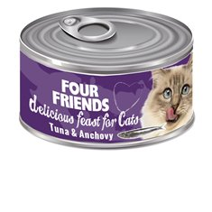 FourFriends Tuna & Anchovy 85 g