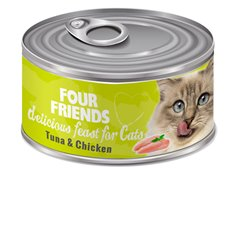 FourFriends Tuna & Chicken 85 g