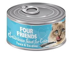 FourFriends Tuna & Sardine 85 g