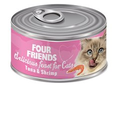 FourFriends Tuna & Shrimp 85 g