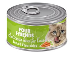 FourFriends Tuna & Vegetables 85 g