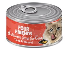 FourFriends Tuna & Mussel 85 g