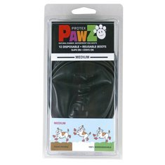 Pawz Hundsko Medium 7,6cm svart 12-Pack