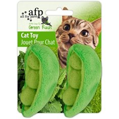 All For Paws green Rush grönsaksmix Med Catnip 6 cm