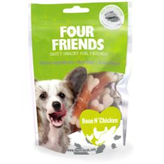 FourFriends Dog Bone N' Chicken 100 g