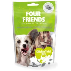 FourFriends Dog Chicken Twist Bite 100 g