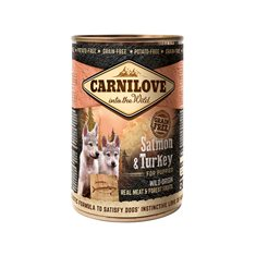 Carnilove Dog Lax & Kalkon Puppy 400 g