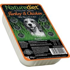 Naturediet Turkey & Chicken 390 g