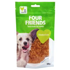 FourFriends Dog Chicken Cube 100 g