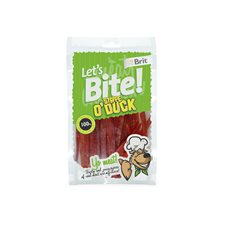 Brit Let's Bite Stripe o Duck 80 g