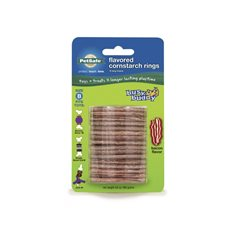 PetSafe Busy Buddy Treat Rings råhudsrefill 16-pack Strl B