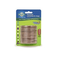 PetSafe Busy Buddy Treat Rings råhudsrefill 16-pack Strl C