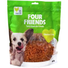 FourFriends Dog Chicken Cube 400 g
