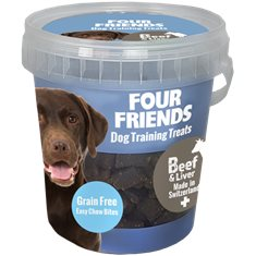 FourFriends Training Treats Beef & Liver 400 g