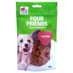 FourFriends Dog Lamb Cube 100 g