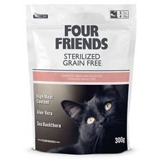 FourFriends Cat Sterilised Grain Free
