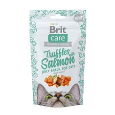 Brit Care Cat Snack Truffles Salmon 50 g