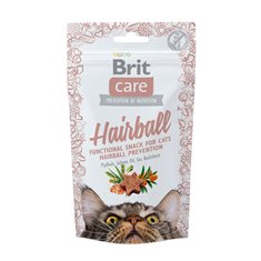 Brit Care Cat Snack Hairboll 50 g