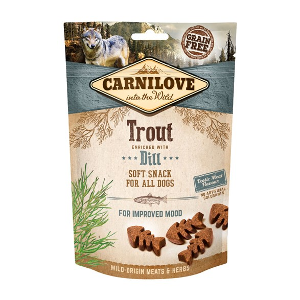 Carnilove Dog Semi Moist Snack Trout & Dill