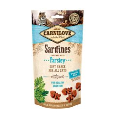 Carnilove Cat Semi Moist Snack Sardine & Parsley 50 g