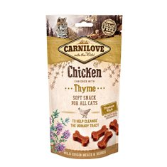 Carnilove Cat Semi Moist Snack Chicken & Thyme 50 g