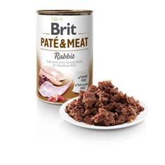 Brit Care Paté & Meat Rabbit 400 g