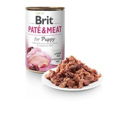 Brit Care Paté & Meat Chicken & Turkey for Puppy 400 g