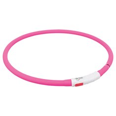 Trixie Flash Light Ring Silikon USB Rosa
