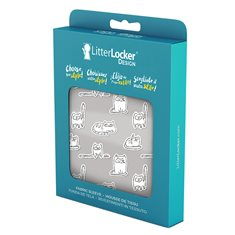 Litterlocker LitterLocker Design sleeve Paper Cats