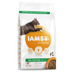 Iams Cat Adult Salmon 3 kg