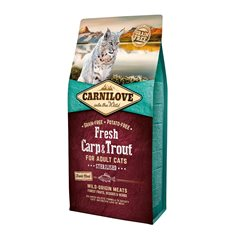 Carnilove Cat Fresh Carp & Trout for Sterilised