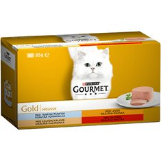 Gourmet Gold Mousse menybox