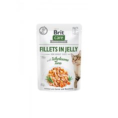 Brit Care Cat Pouch Fillets Jelly Tuna