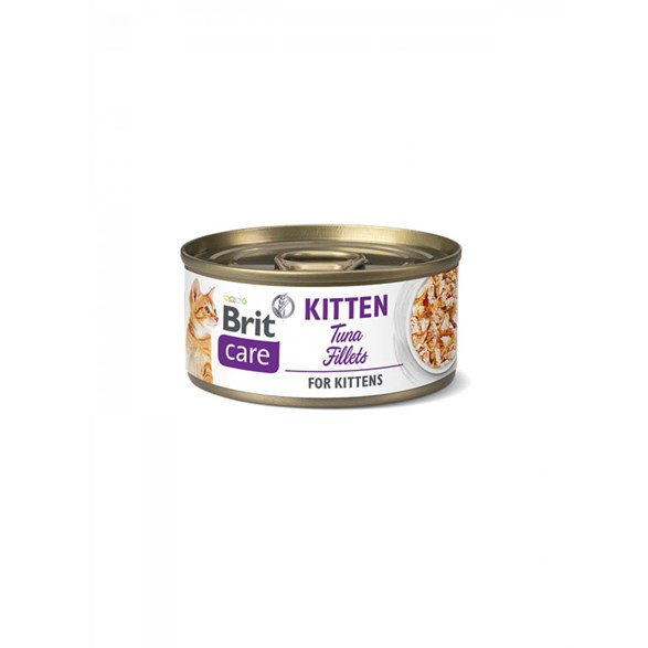 Brit Care Cat Cans for Kitten with Tuna Fillets
