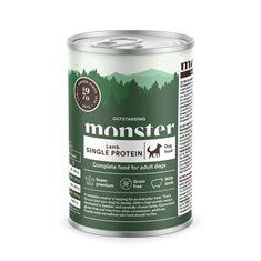 Monster Dog Adult Mono Protein Lamb Burk