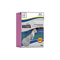 Bozita Feline Sensitive Hair & Skin Bitar i Gelé