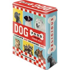 "Nostalgic Art Plåtburk ""Dog Food"" 4 L"