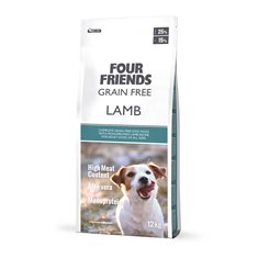 Four Friends Dog Grain Free Lamb