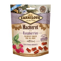 Carnilove Dog Crunchy Snack Mackerel & Raspberries