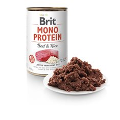 Brit Mono Protein Beef & Brown Rice