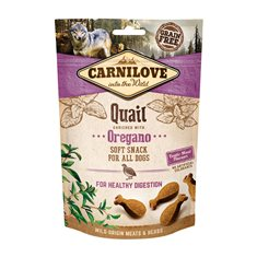 Carnilove Dog Semi Moist Snack Quail & Oregano