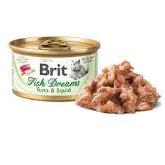 Brit Brit Fish Dreams Tuna & Squid