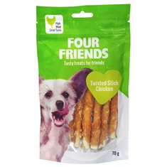 Four Friends Twisted Stick Chicken 12,5 cm