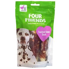 Four Friends Twisted Stick Duck 12,5 cm 4-p