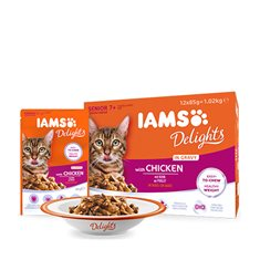 Iams Delights in Gravy Senior Multipack