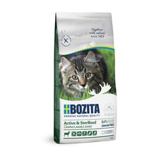 Bozita Feline Active & Sterilized Grain Free Lamb