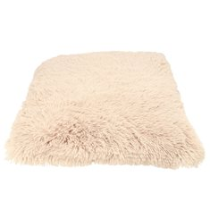 Dogman Dog Pillow Shaggy beige