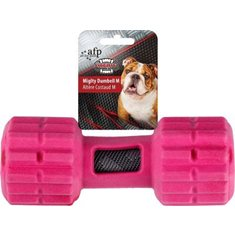 All For Paws Mighty Rex Dumbell Fuschia