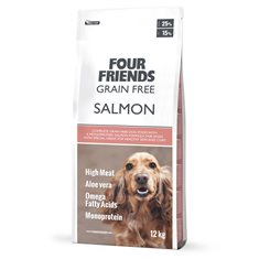 FourFriends Dog Grain Free Salmon